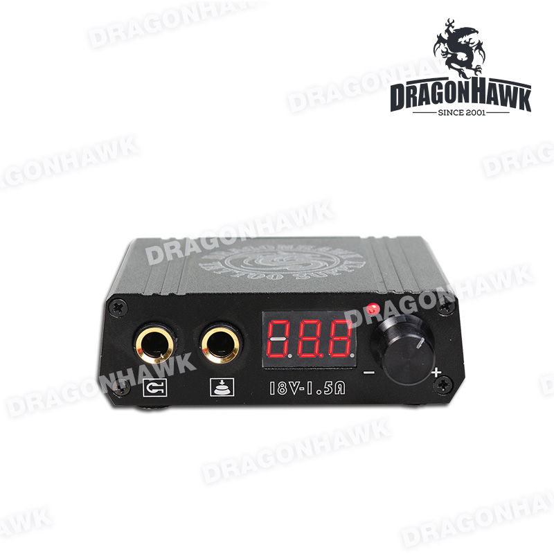 Top Quality Mini Tattoo Power Box LCD Untuk Mesin Tatu Dragonhawk - Seni tatu dan badan - Foto 3