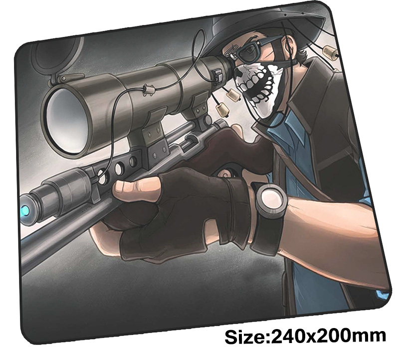 Team Fortress 2 Mouse Pad Gamer 240x200mm  Notbook Mouse Mat Cartoon Gaming Mousepad Large Gorgeous Pad Mouse PC Desk Padmouse