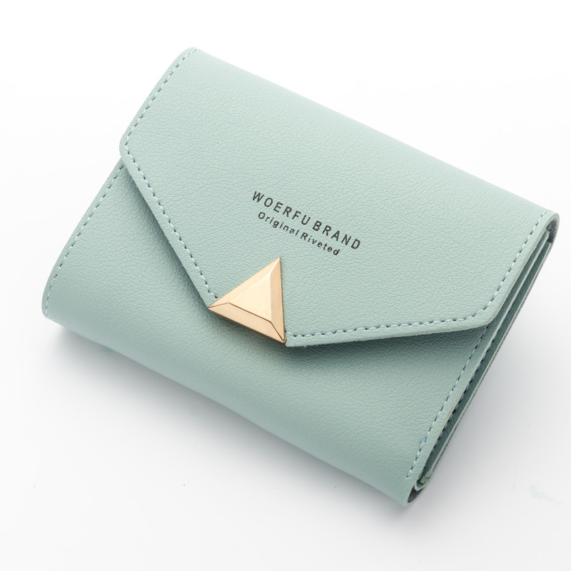 Women Wallet PU Leather Female Short Card Holder Coin Purse Girl Brand Fashion Small Mini Wallet Envelope Purses Ladies Clutch high quality 100% genuine leather women wallet ladies short wallets leather small wallet coin purse girl card holder clutch bag