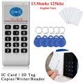 Портативная частота 125 кГц-13,56 МГц копировальный аппарат Cloner RFID карта NFC IC считыватель и писатель