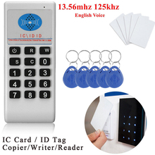 El Frekans 125 Khz 13.56 MHZ Fotokopi Teksir Cloner RFID NFC IC kart okuyucu ve yazıcı