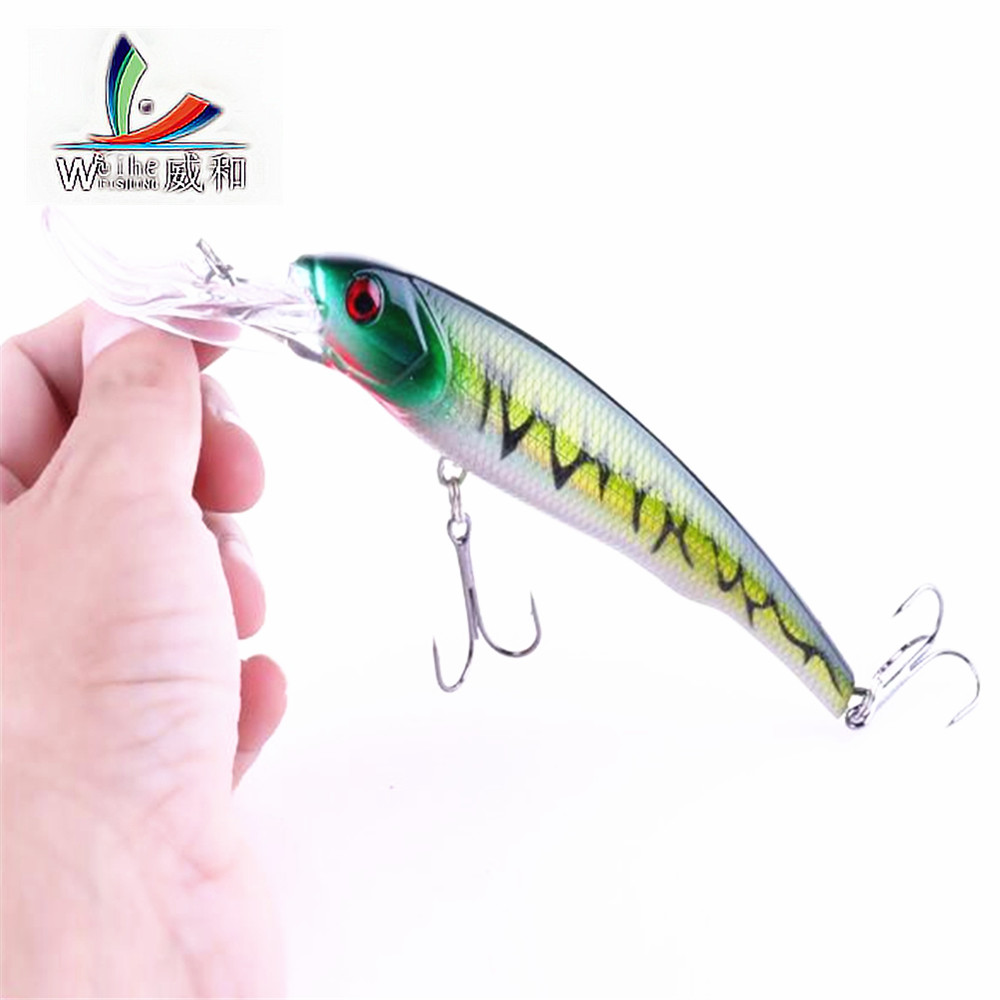 1PCS Artificial Deep Sea Lures 16.5CM 29.1G Minuo Hard Bait Outdoor Fishing Gear Supplies Tackle For Fishing