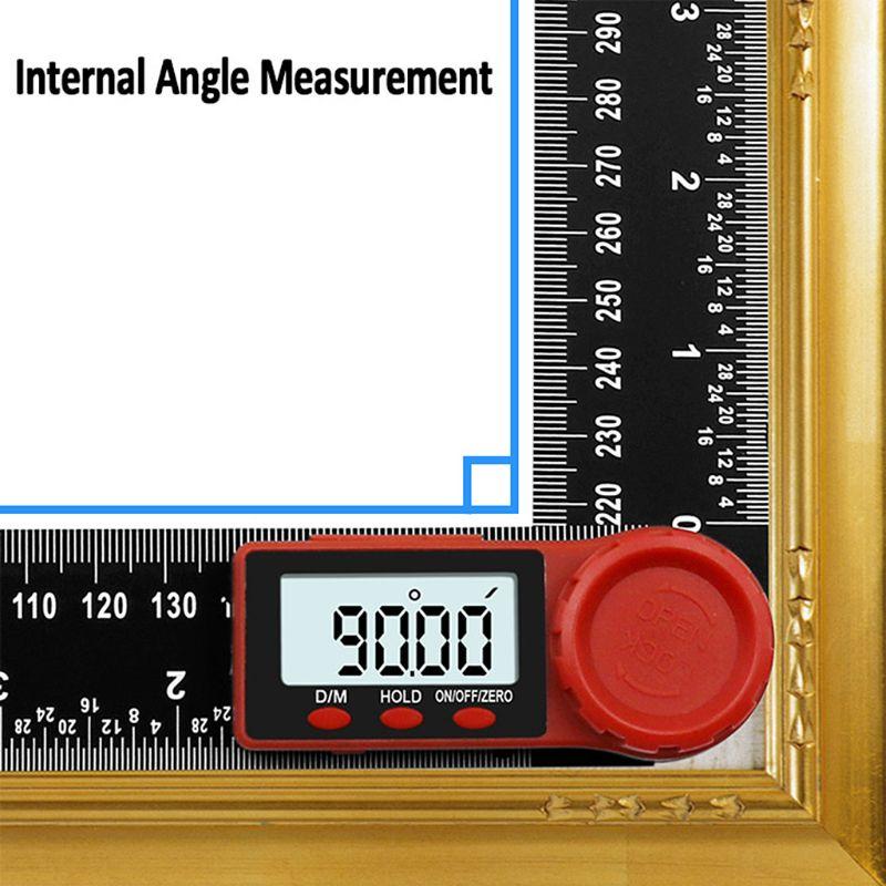 Inclinómetro de ángulo Digital de 200mm medidor de medición de ángulo goniómetro electrónico Protractor buscador herramienta de medición Sm907 sm901 5G GPS Drone plegable profesional con cámara Dual 1080P 4K WiFi FPV gran angular RC Quadcopter helicóptero juguete E502S