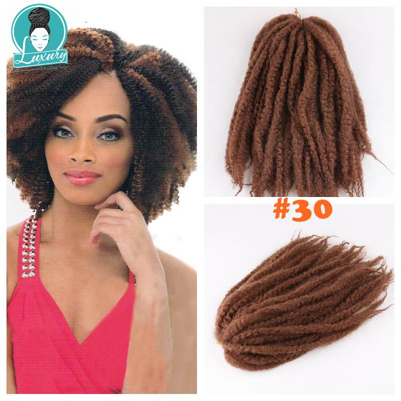 afro kinky curly marley braids34