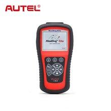 Autel Maxidiag Elite MD802 для 4 системы 4 в 1 Авто OBD2 автомобильной сканер диагностические код читателя сканирования сканер automotriz