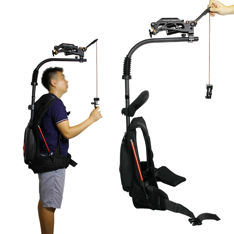 Easy Rig Load 22 Lbs-55 Lbs Flowcine Steady Support Body+Serene Damping Arm Wearable Gimbal For SLR Camera Video Studio Photogra