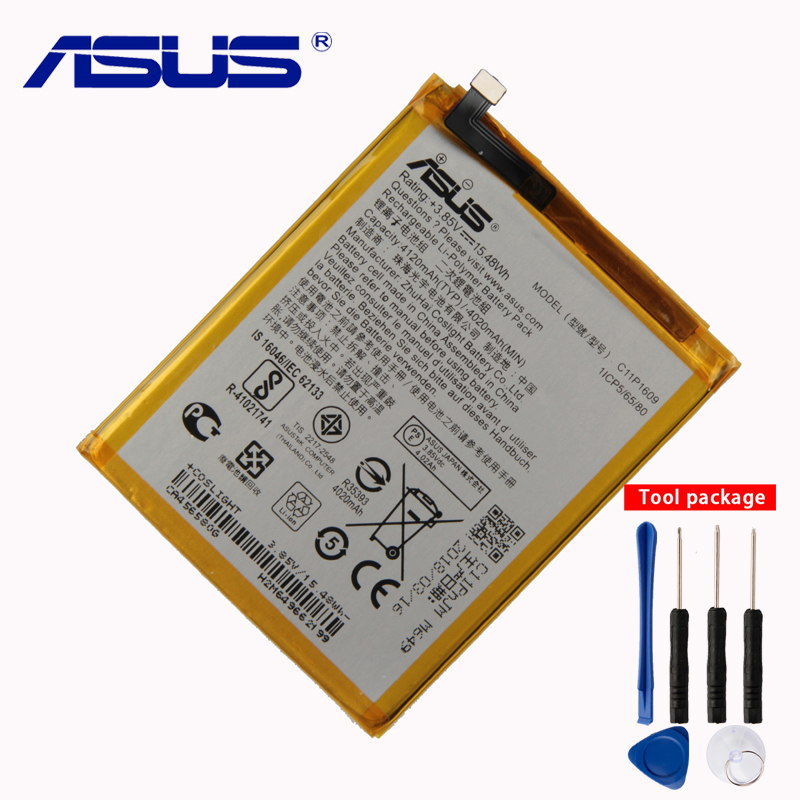 Original <font><b>ASUS</b></font> High Capacity C11P1609 <font><b>Battery</b></font> For <font><b>ASUS</b></font> Zenfone3 max 5.5