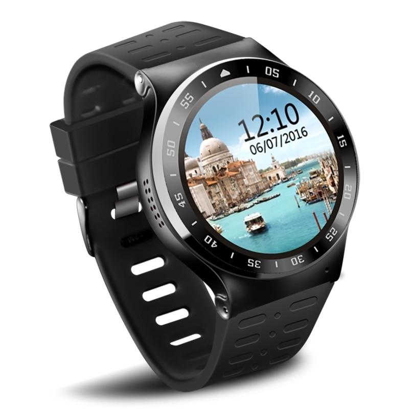 imágenes para Android5.1 S99A 3G Smartwatch ZGPAX Teléfono 1.33 pulgadas MTK6580 Quad A Core 1.0 GHz 8 GB ROM 2.0MP Cámara WiFi GPS Bluetooth Inteligente reloj