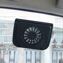 Черный солнечных батареях салона охладитель автомобиля радиатор воздуха система вентиляции Auto Air Vent холодный вентилятор