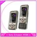 Original w395 sony ericsson w395 desbloqueado teléfonos celulares bluetooth reproductor de mp3 envío gratis garantía un año