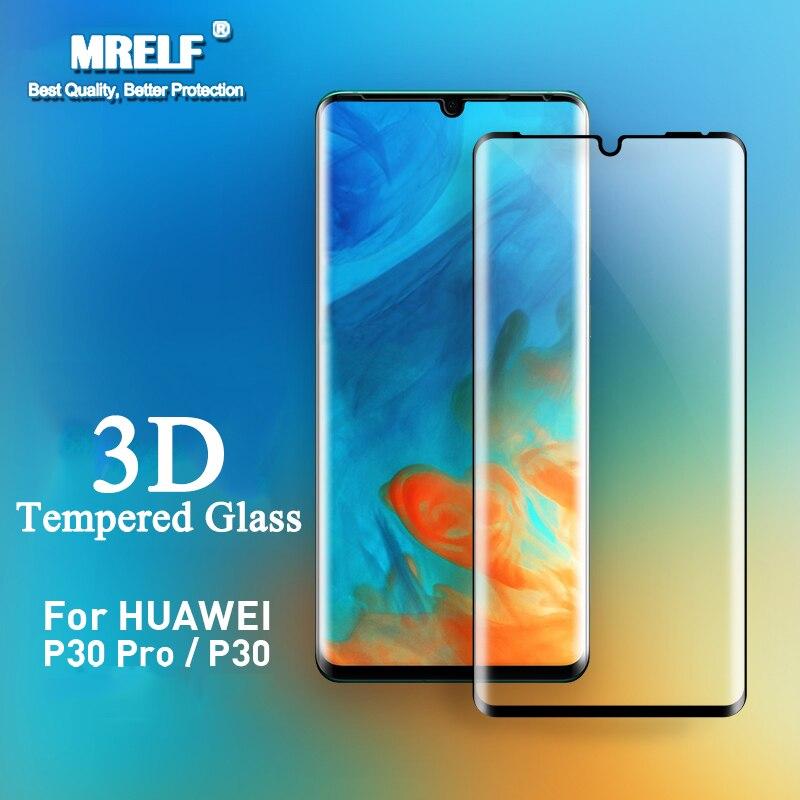 3D Tempered Glass For Huawei P30 Lite Pro Screen Protector On Phone Protective Glass For Huawei P30 Pro Lite P30 Glass Nova 4e