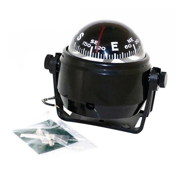 Boussole magnétique flottante | À, boussole magnétique de Navigation, voiture Marine Auto
