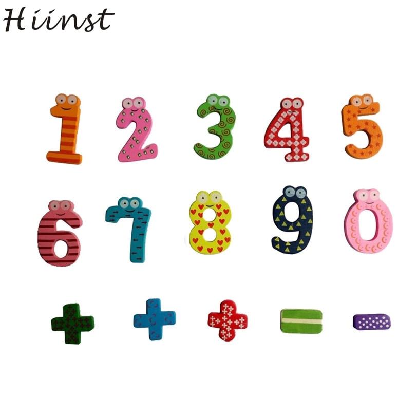 Hiinst Best продавца корабль падения Магнитные деревянные числа математика набор цифрово ...