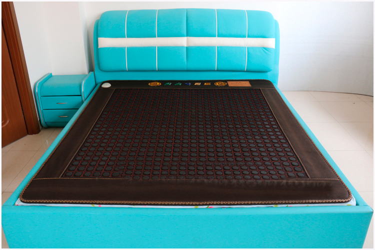 2016 Hottest Thermal Therapy Heating Sauna Mattress Massager for Bed Jade Mattress Electric Heated Cushion Size 1.2*1.9M dia 400mm 900w 120v 3m ntc 100k round tank silicone heater huge 3d printer build plate heated bed electric heating plate element