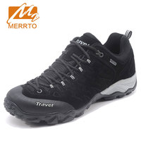 MERRTO New Hiking Shoes Men's Outdoor Sports Shoes Male Antiskid Breathable Waterproof Hunting Sneakers Mountain Climbing Shoes