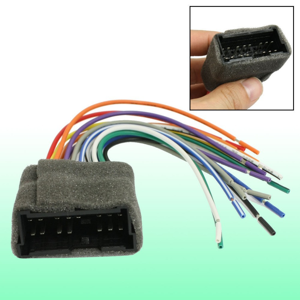 Gps Navigation Dvd Drive Wire Harness Pin Plug Adapter For Hyundai Wiring In Cables Adapters Sockets From Automobiles Motorcycles On Alibaba