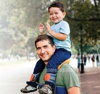 Hands Free Shoulder Carrier Nylon Child Strap Rider for 2 5 Years Old Kids Baby Safest Kangaroo Wrap Sling Suspenders