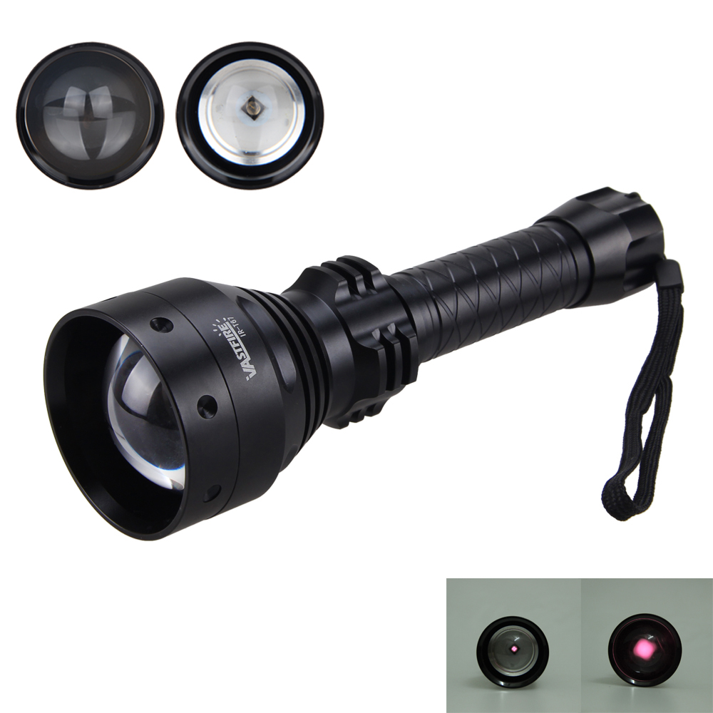 VastFire Zoomable IR 850nm LED Hunting Infrared Torch Night Vision Need to cooperate with professional night