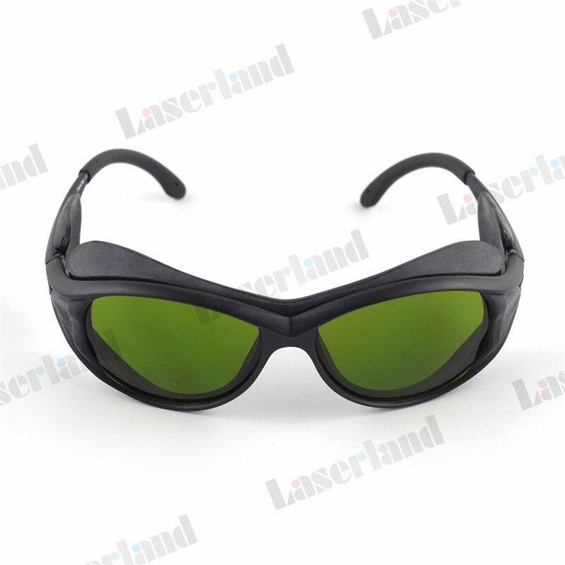 c9d734da97ca9 OD4 + 850nm-980nm-1064nm 190nm-355nm-405nm UV Óculos Óculos de Proteção Do  Laser IR