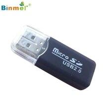 Binmer USB 2.0 Micro SD SDHC TF Flash Memory Card Reader Mini Adapter For Laptop Jan16 MotherLander