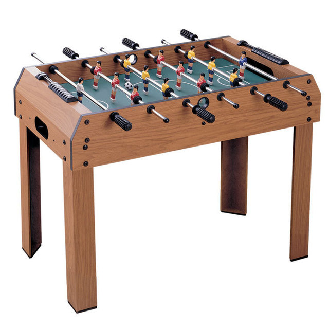 ALHGWJ08 Wooden Table Football Bar Entertainment Game Table Children Home  Parent Child Interaction Game Kid