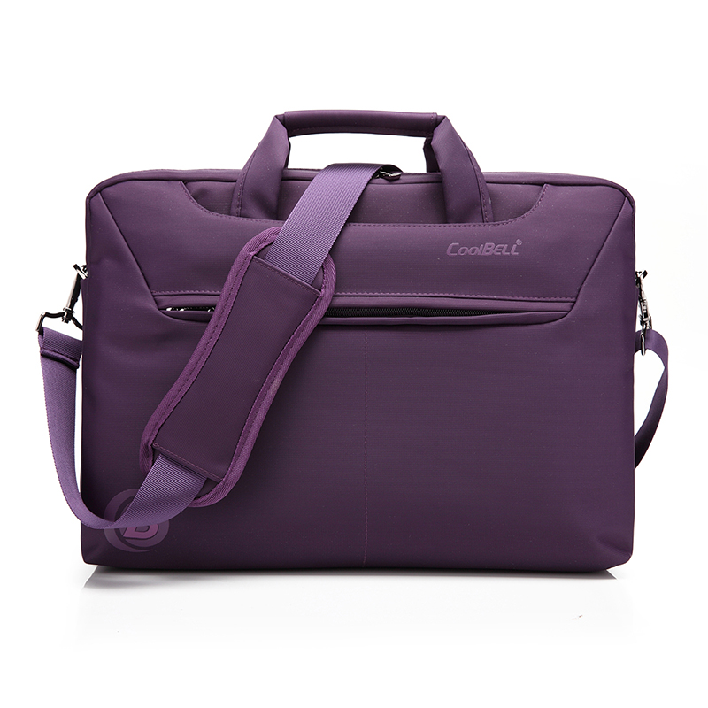XSKN Waterproof 14 15 inch Notebook Computer Laptop Shoulder Messenger Bag for Men Women Briefcase, Black, Red, Purple
