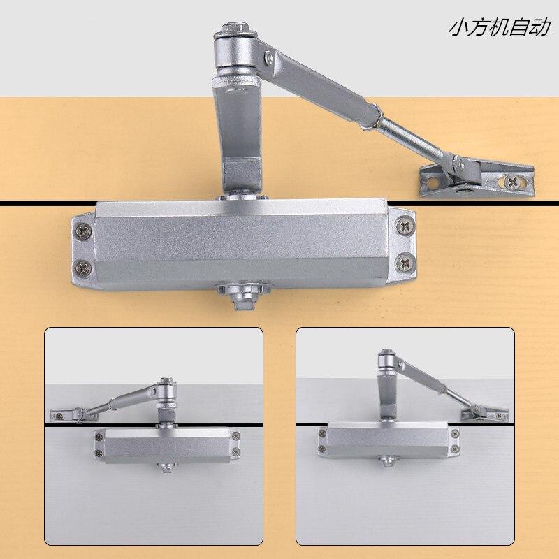Hydraulique de sécurité automatique ferme-portes 25-45 KG Réglable ignifuge Tampon automatique ferme-portes matériel meubles