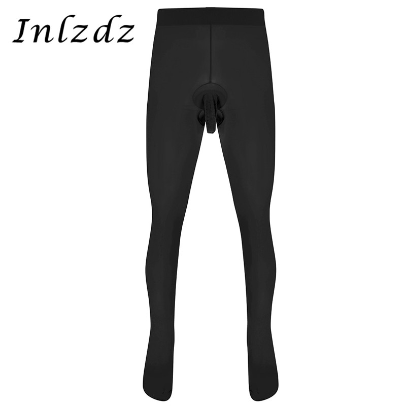 Mens Pantyhose Skinny Stretchy Tights Hosiery Socks Pouch Seamless Underwear Exotic Apparel Sexy Lingerie Pantyhose Stocking