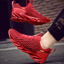 цены Men Running Shoes Breathable Sneakers Lightweight Big Size Athletic Sport shoes male Outdoor Walking Sneakers Zapatos Hombre