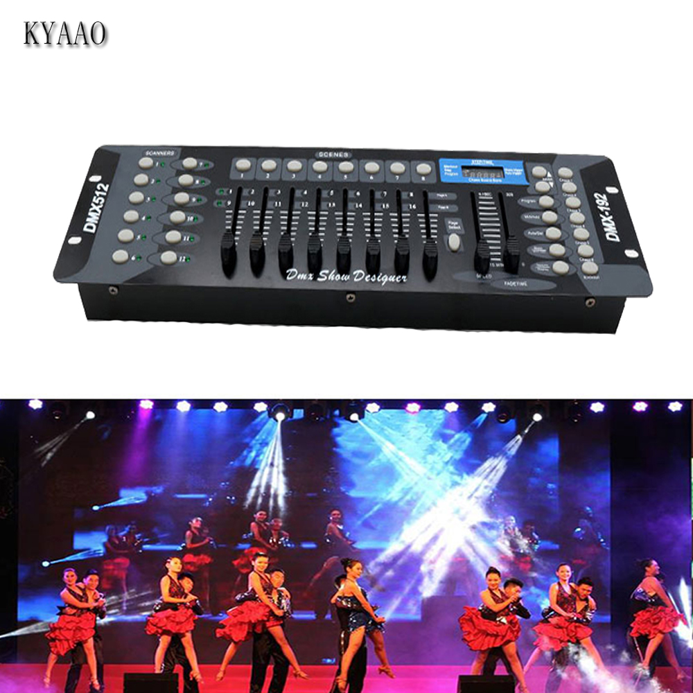 192Ch Wireless console DMX 512 DJ System Controller Stage Moving Head Light Console 192 Channels DMX512 for Disco Equipment new stage light controller 192ch dmx512 controller for stage dj equipment in led par moving head beam christmas laser projector