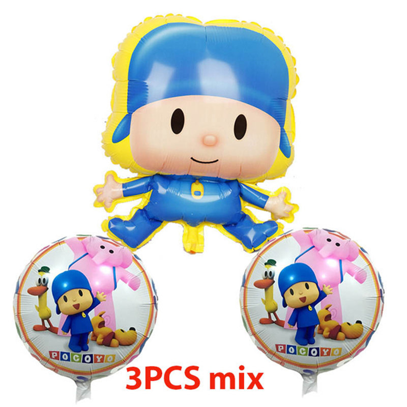15pcs-set-Cartoon-Pocoyo-Balloons-Happy-Birthday-Party-Star-baloons-Polka-Dot-Pattern-Latex-set-Inflables.jpg_640x640