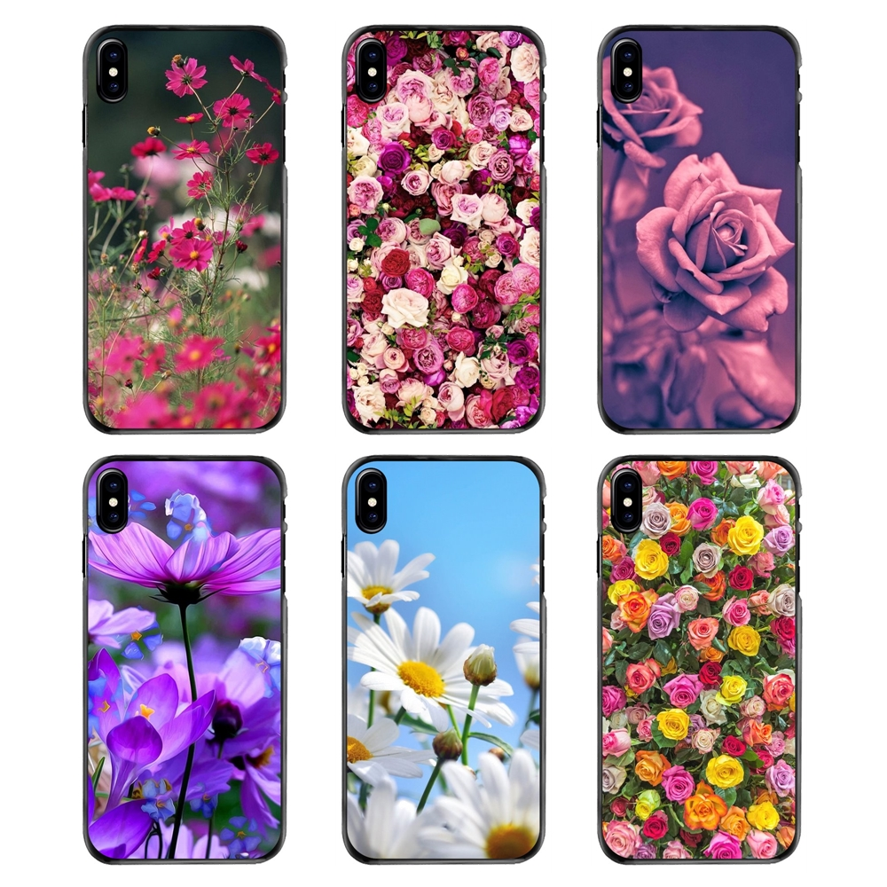 Flowers Garden Wallpaper In Hd And Wallpapers For Samsung Galaxy Note 2 3 4 5 S2 S3 S4 S5 Mini S6 S7 Edge S9 S8 Plus Phone Cases Fitted Cases Aliexpress