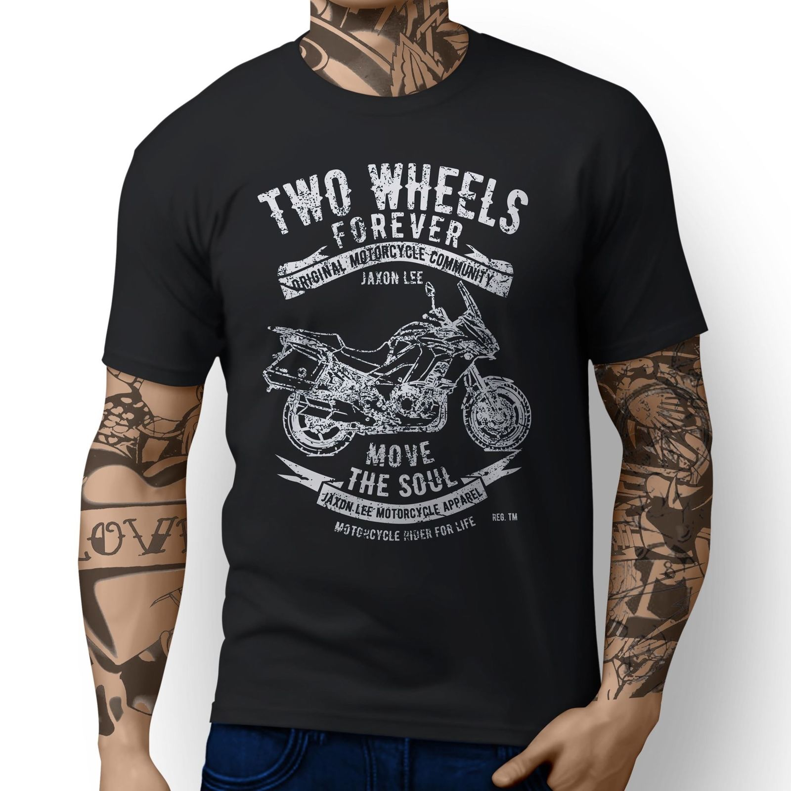 Us 11 53 10 Off 2019 New Summer Cool Japanese Classic Motorbike Versys 1000 Lt Inspired Motorcycle Art Design T Shirts Tee Shirt In T Shirts From