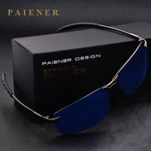 Male anti-uv 400 polarized sunglasses car driver mirror sun glasses Aluminum fra