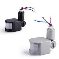 AC 220 В датчик движения выключатель света PIR датчик движения переключатель