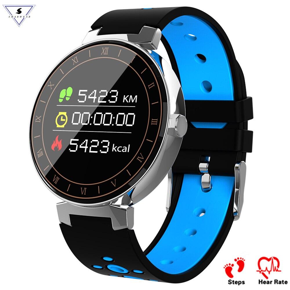 L8 Multi-modo sport Smart Band Bluetooth Sleep Monitor de ritmo cardíaco presión arterial SPO2 Fitness Tracker reloj inteligente Android OS IOS