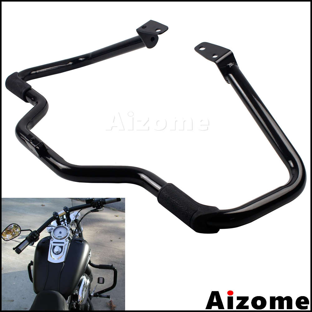 Motorcycle Crash Bar Engine Guard For Harley Dyna 2006 2017 Street Bob Fat Bob Low Rider Wide Glide FXDB FXDF FXDL FXDWG FXDC|Covers & Ornamental Mouldings| |  - title=
