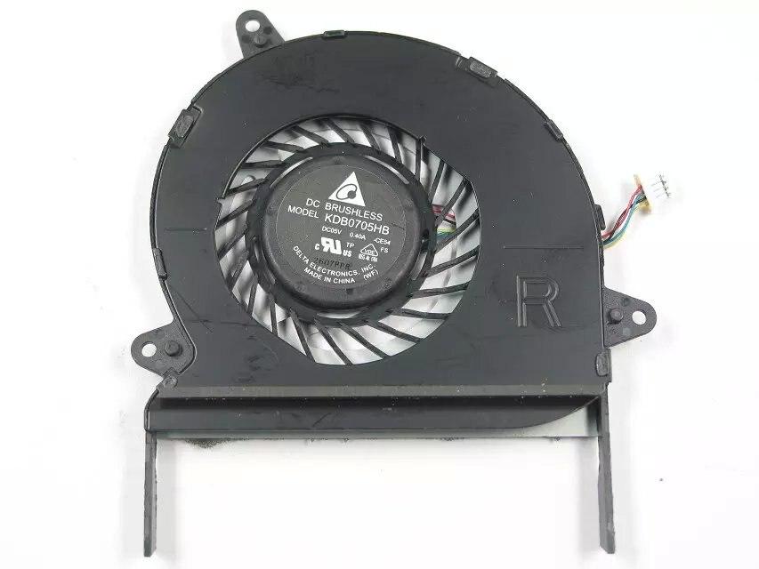 Delta KDB0705HB CE54 DC 5V 0.40A 4-wire Server Laptop fan free shipping for sunon eg50040v1 c06c s9a dc 5v 2 00w 8 wire 8 pin server laptop fan