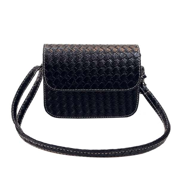 TEXU New Women PU Leather Handbag Fashion Shoulder Bag Clutch Tote Purse Messenger new fashion weave striped pu leather pearl leather pair mini bag old bag clutch bag female chain purse handbag shoulder bag
