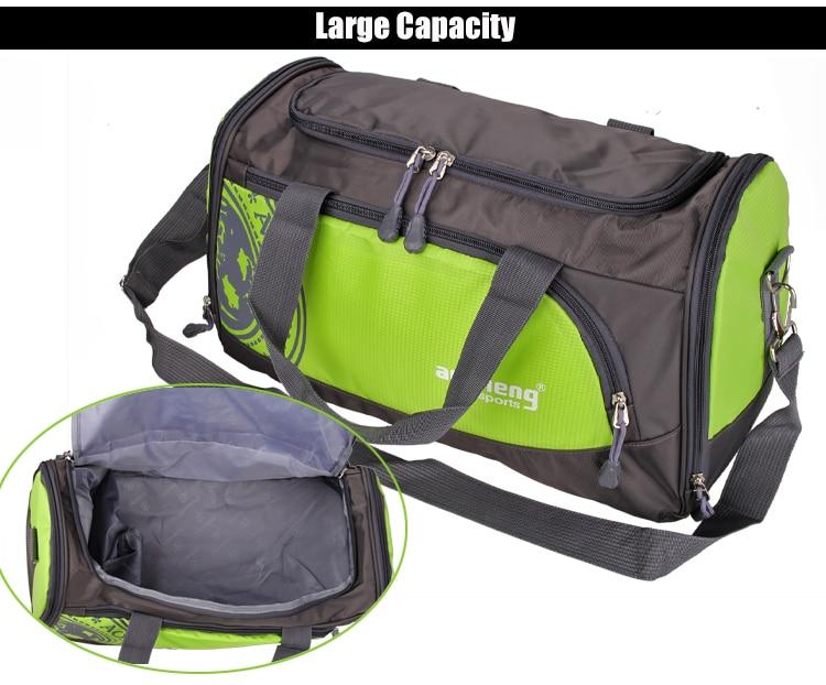 Hot Nylon Outdoor Sports Gym Bag Professional Men Women Fitness Travel Handbag Hot Training Female Yoga Duffel Shoulder Bag