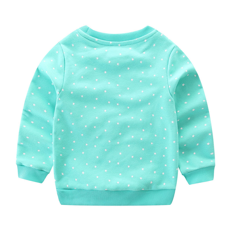 SAILEROAD 2-7years Animal Rabbit Appliques Girls Sweatshirts Child Kid Clothes Autumn Baby Girl's Clothing Boys Long Sleeve Tops 2