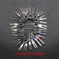 Kit de eliminación de terminales de coche de 36 Uds., herramientas profesionales de reparación de terminales extractoras de Pin de conector de engarzado de cableado