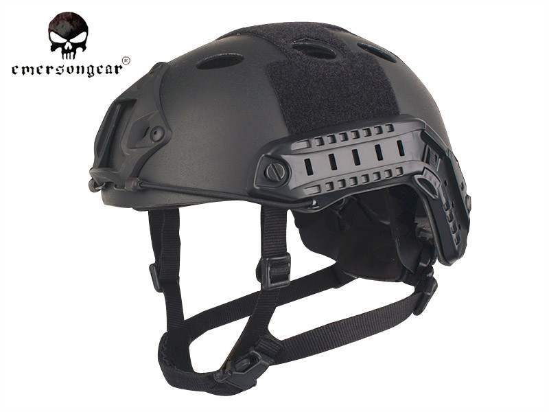EMERSON Carbon POM Helmet PJ Type Fast Jumping Protective Headwear Helmet Men Paintball Military CS Combat Gear airsoft adults cs field game skeleton warrior skull paintball mask