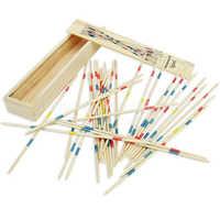 Mikado Spiel Stick Up Sticks Spiel Familie Kinder Konzentration Spiel Holzbrett Spiel 2 Spieler +