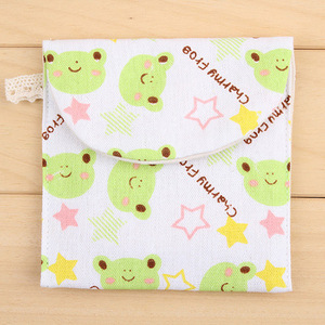 Image 5 - 1 Ps Brief Cute Animals Bear Frog Tree Design Earphone Coin Data Line Sanitary Towel Home Office Drawer Organizers Storage Bag