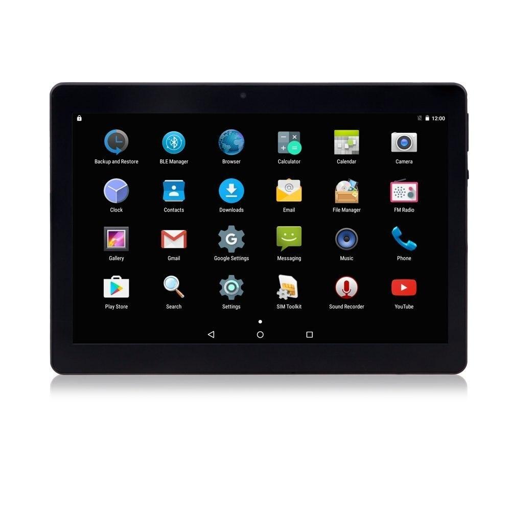 DHL Freies 10 zoll Tablet Android 7.0 mit Schützen Fall 2 gb Ram 32 gb Lagerung Dual SIM 3g Telefon tabletten PC Metall Shell Design git - 5