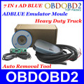Lowest Price Adblue Emulator For Heavy Duty Truck Ad blue Remover Tool With Programming Adapters 7In1 Best Quality Post Shipping
