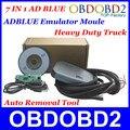 O mais baixo Preço Adblue Emulador Para Heavy Duty Truck Ferramenta Removedor Com Adaptadores de Programação 7In1 Ad azul Melhor Qualidade do Transporte do Cargo