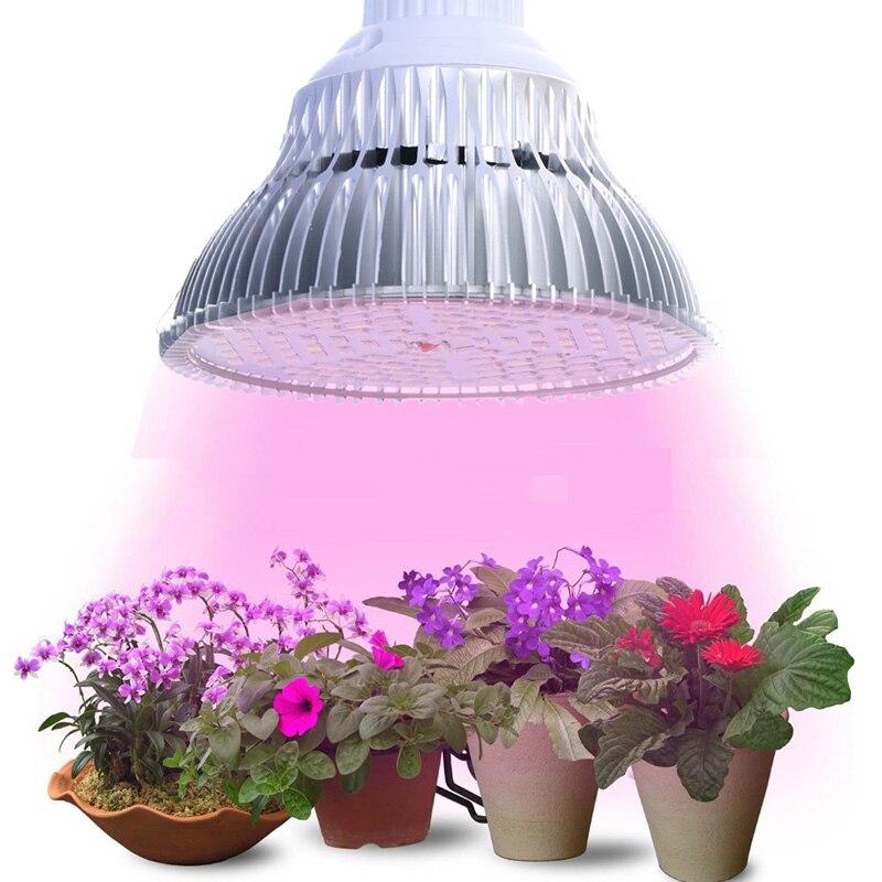 JIERNUO Grow Led Plant light LED Grow Light E27 6W 10W 18W 24W 48W 90W Plant