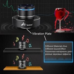 Image 4 - Adin 金属 26 10w 振動 bluetooth スピーカー nfc タッチハイファイサブウーファーワイヤレススピーカー 360 ステレオ超低音スピーカー